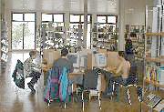 Internetplätze in der Hauptstelle